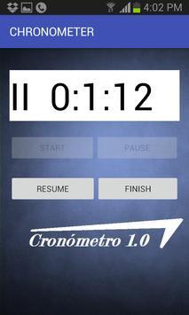 Chronometer screenshot 1
