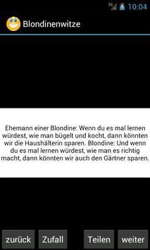 Blondinenwitze poster