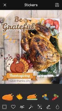 Thanksgiving Photo Editor: Frames PRO poster