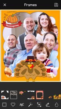 Thanksgiving Photo Editor: Frames PRO screenshot 2