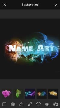 Smoke Effect Art Name: Focus Filter Maker poster