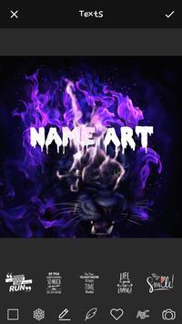 Smoke Effect Art Name: Focus Filter Maker screenshot 2