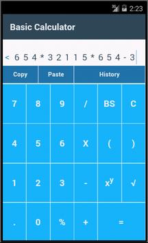 Basic Calculator screenshot 2