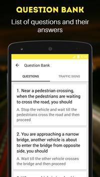 RTO Exam: Driving Licence Test apk screenshot