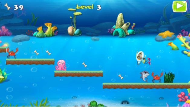Paw Puppy Underwater apk screenshot