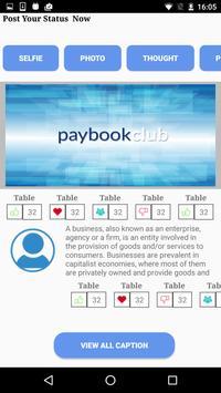 paybookclub apk screenshot