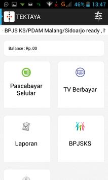PPOB Android apk screenshot