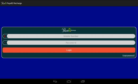 Payall2Recharge B2B Android screenshot 4