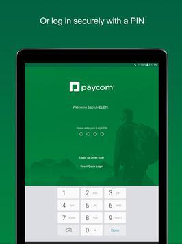 Paycom apk screenshot