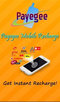 Payegee Recharge poster