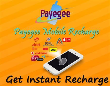Payegee Recharge apk screenshot
