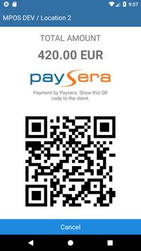 Paysera Retailers screenshot 1
