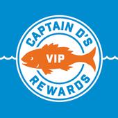 Captain D's VIP Rewards icon