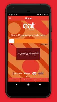 ieat® Rewards apk screenshot