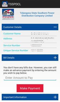 TSSPDCL Bill Payment apk screenshot