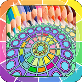 Coloring Books for Adults lite icon