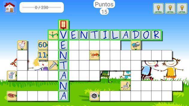 Spanish Picture Crosswords screenshot 1