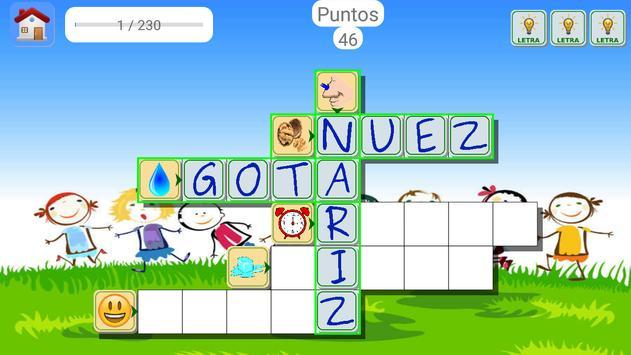 Spanish Picture Crosswords screenshot 2