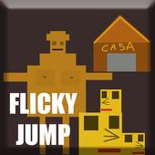 Flicky jump icon