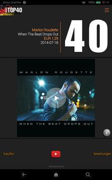 my9 Top 40 : DE music charts screenshot 7