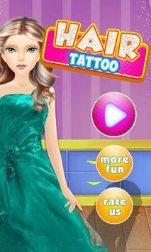 Hair Tattoo Princess Beauty poster