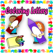 Coloring Letters icon