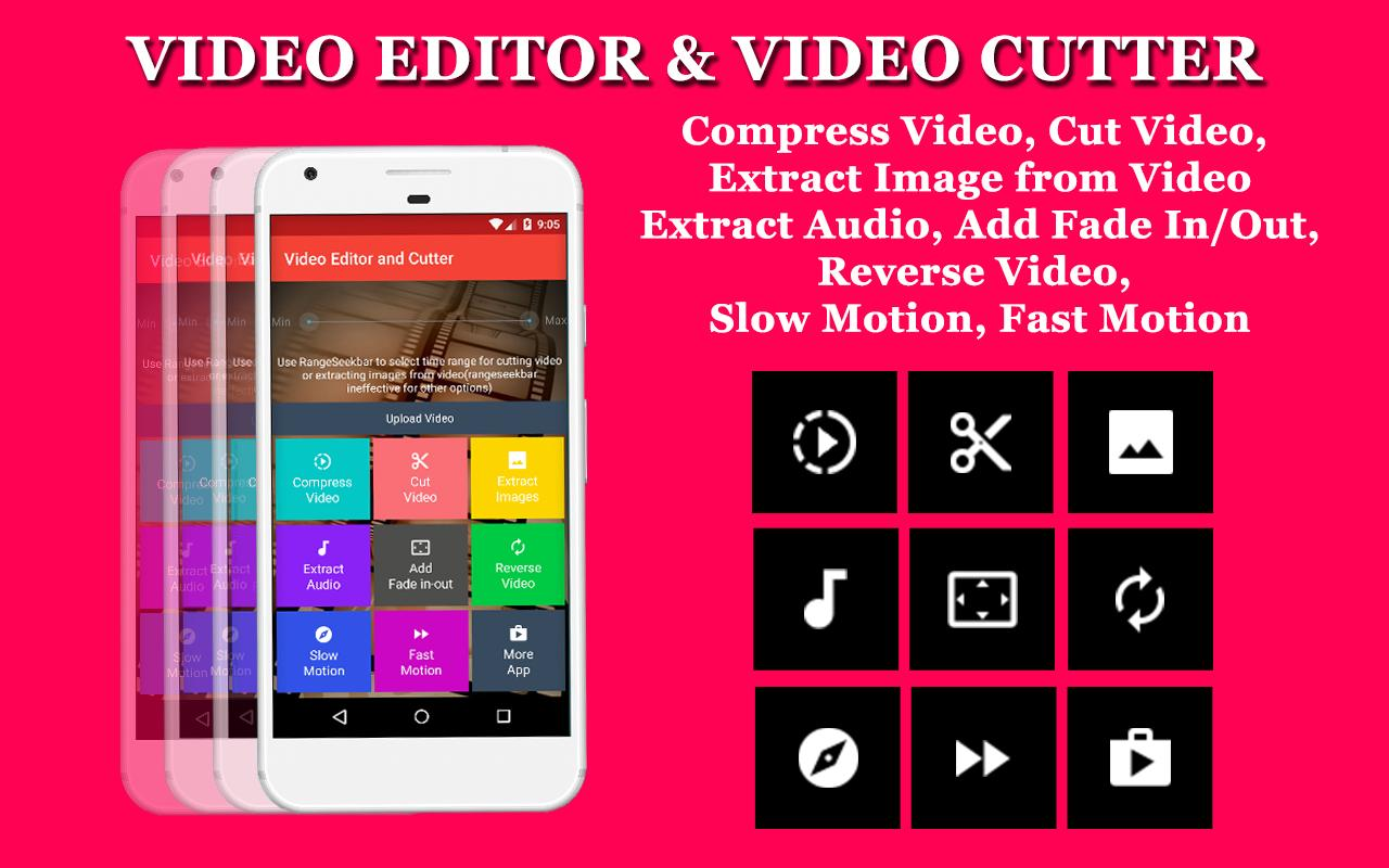 Free Video Editor - Cut, Compress, No watermark for Android - APK