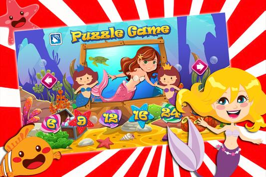 My Baby Mermaid Game : Puzzle Jigsaw poster