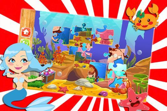 My Baby Mermaid Game : Puzzle Jigsaw apk screenshot