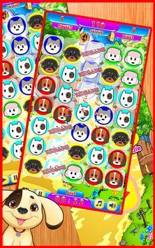 Paw Puppy Match3 Patrol. Amazing Game screenshot 2