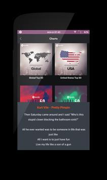 Delta - Lyric Music apk screenshot