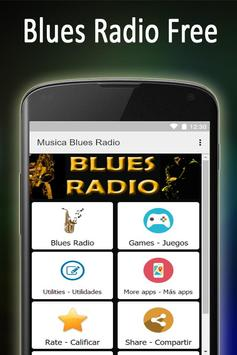 Música Blues Radio Gratis poster