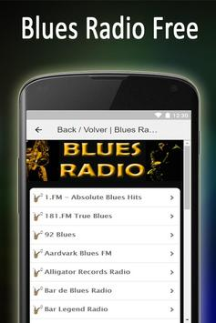 Música Blues Radio Gratis apk screenshot