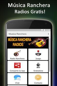 Música Ranchera Radios poster