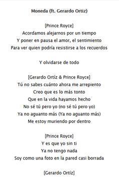 Prince Royce Lyrics apk screenshot