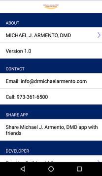 Michael J. Armento, DMD apk screenshot