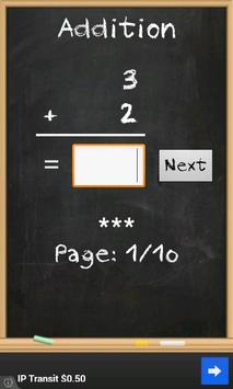 Math for kids screenshot 1