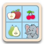 Jeu memory - les fruits icon