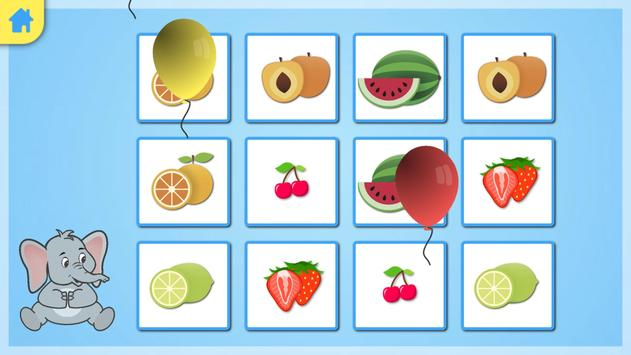 Jeu memory - les fruits screenshot 3