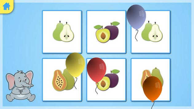 Jeu memory - les fruits screenshot 5