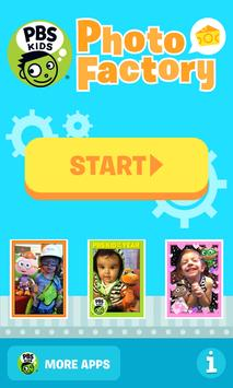 PBS KIDS Photo Factory poster
