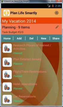 Life Event Planner screenshot 3