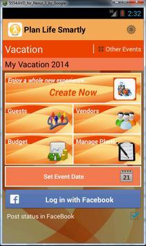 Life Event Planner screenshot 1