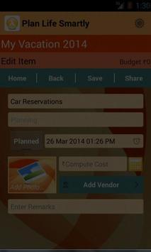 Life Event Planner screenshot 4