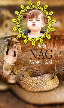 Nag Panchami Photo Frame poster