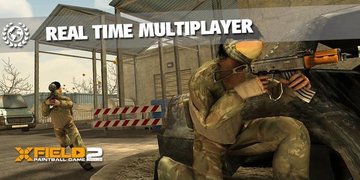 XField Paintball 2 Multiplayer ảnh chụp màn hình 1