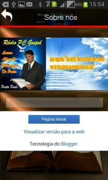 Rádio Pc Gospel DF apk screenshot