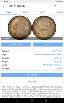 PCGS CoinFacts Coin Collecting apk screenshot
