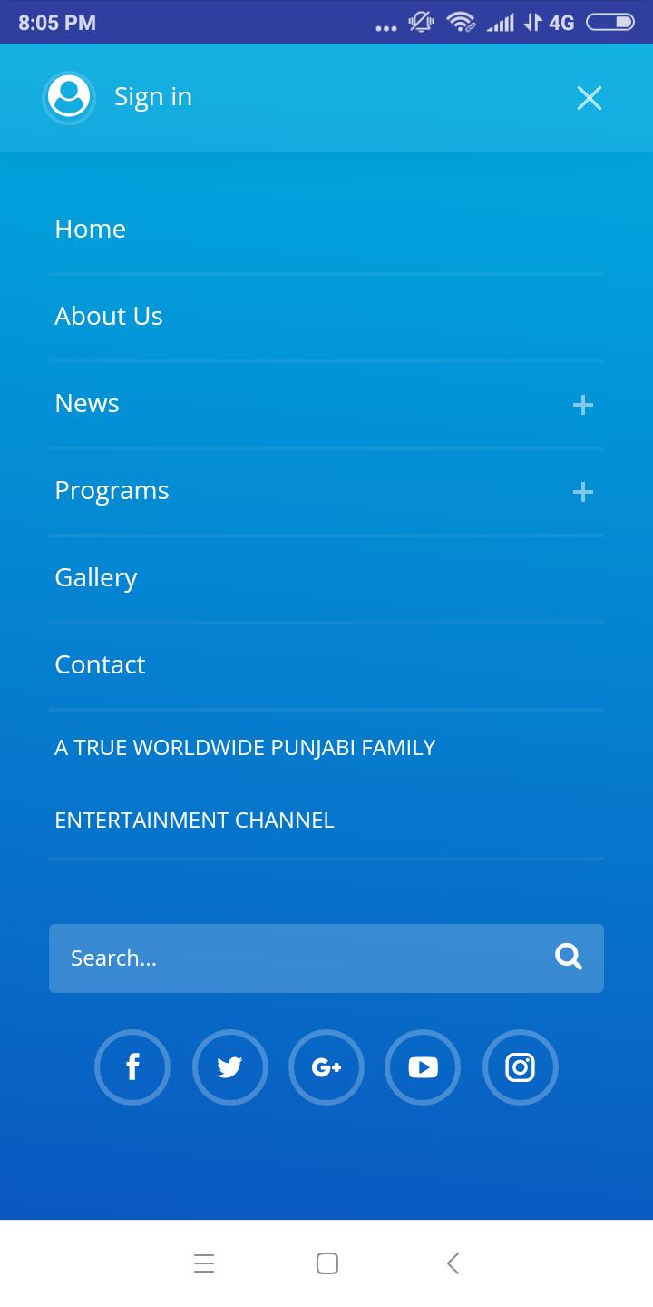 CHANNEL PUNJAB TV for Android - APK Download