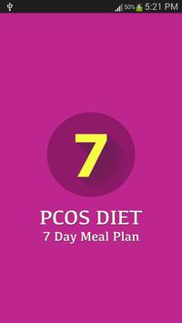 7 Day PCOS Diet Plan poster